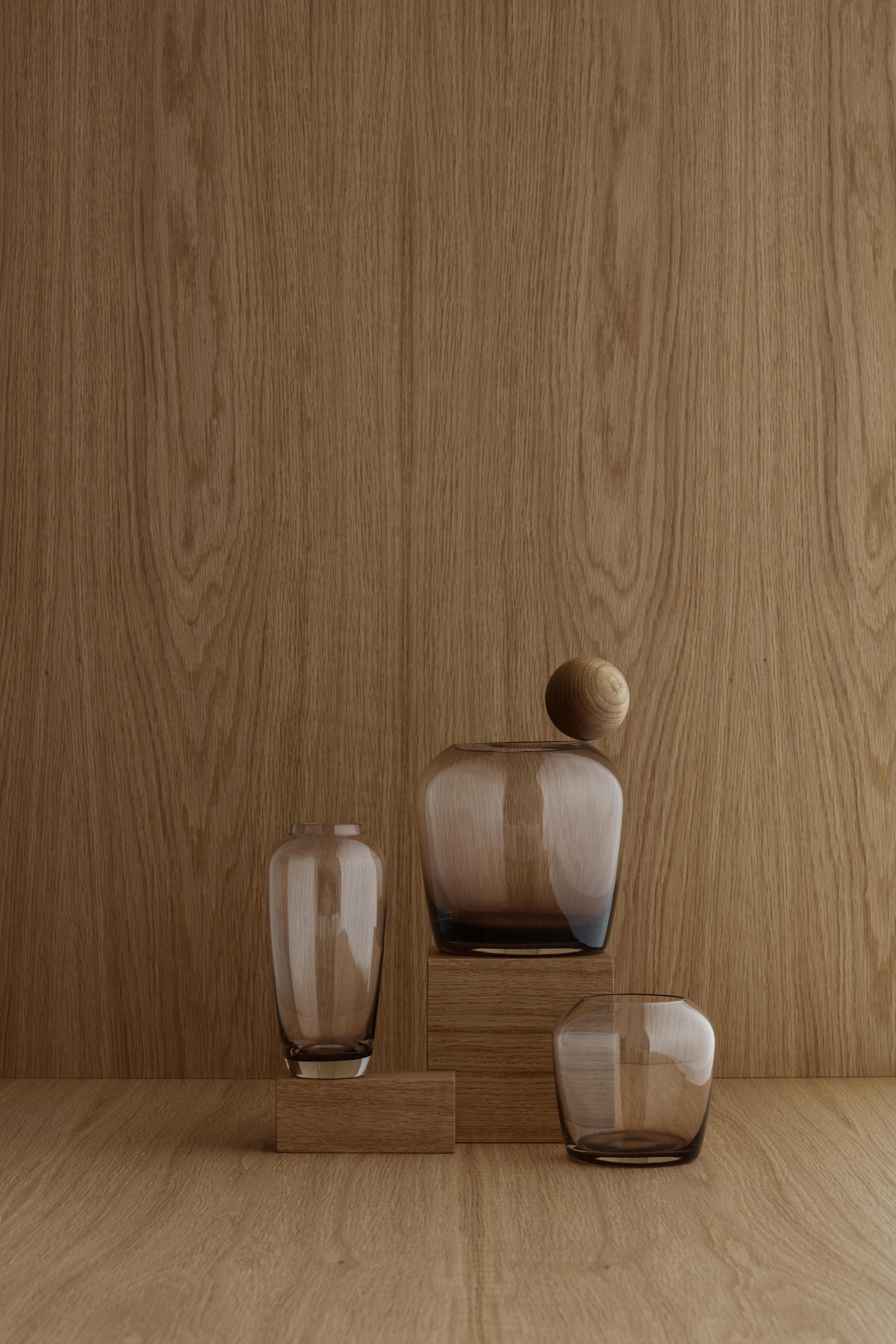 Vase - Blomus - Kaffee - large