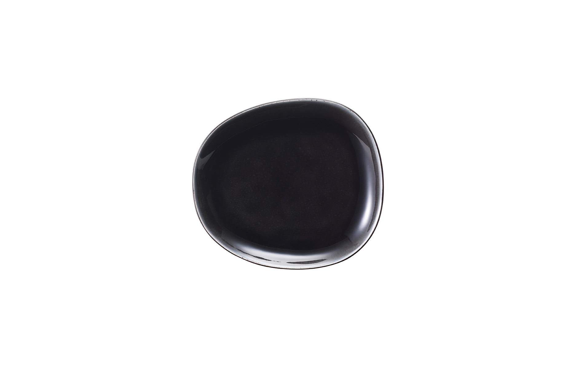 Elements by van Well / Dessertteller schwarz